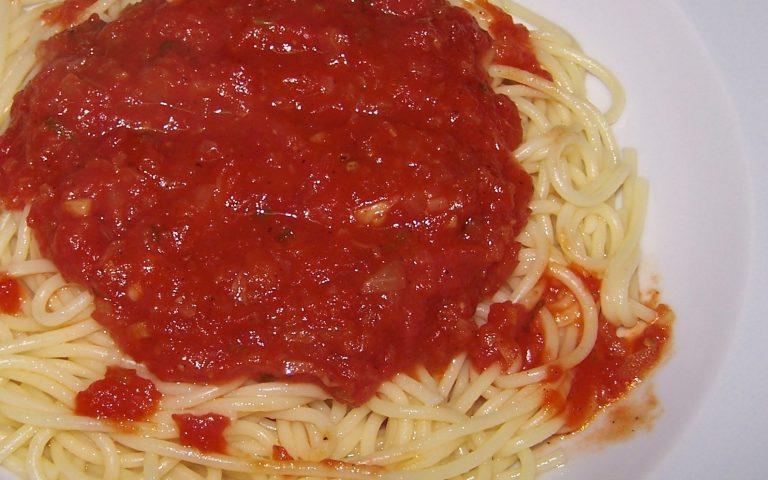 DomatesliSpaghetti