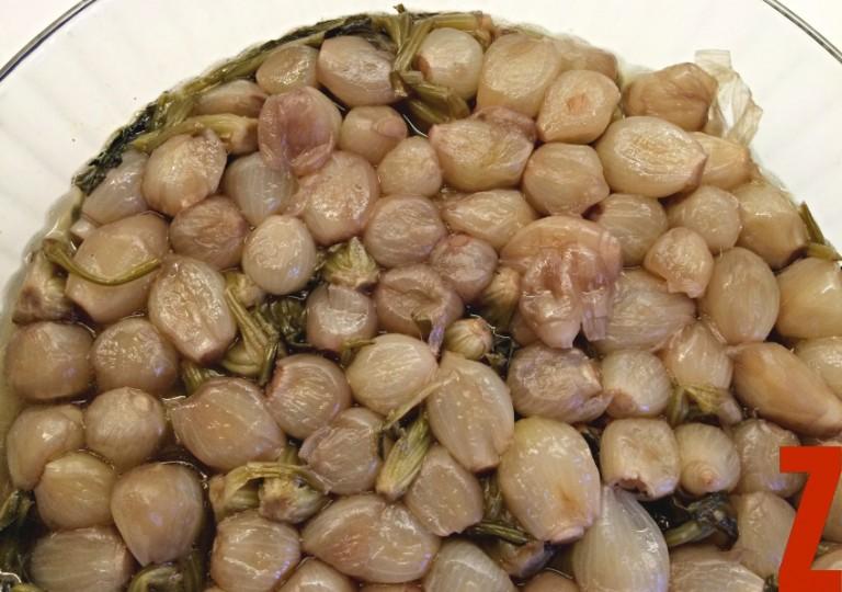 arpacık soğanlı ıspanak kökü